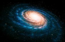Spiral galaxy, artwork