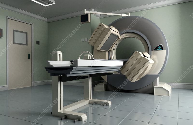 SPECT imaging machine