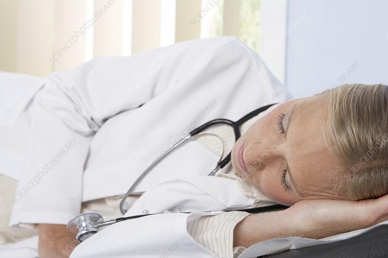 Sleeping doctor