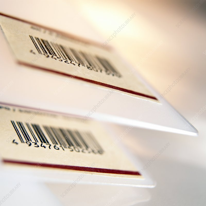 Barcoded labels