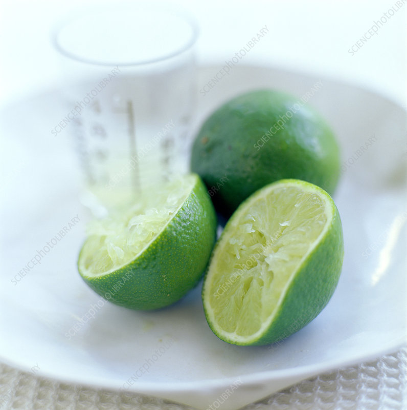 Squeezed lime