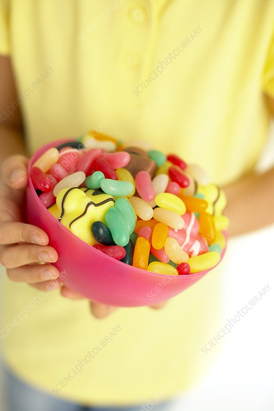 Bowl of sweets