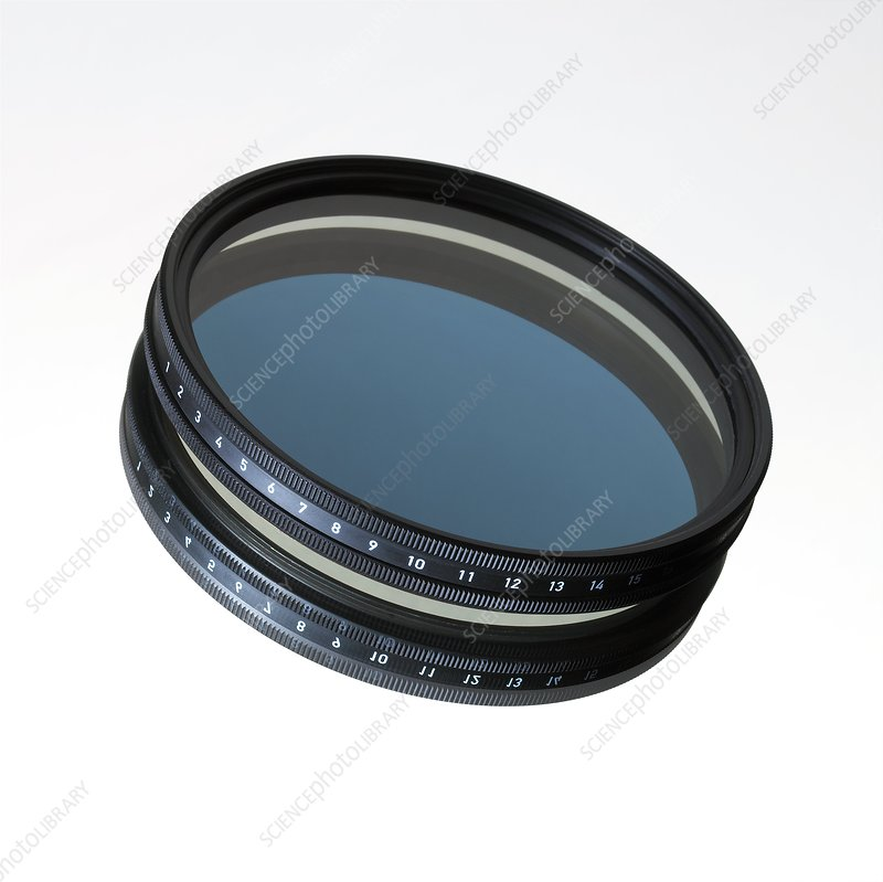 Polarising camera filter