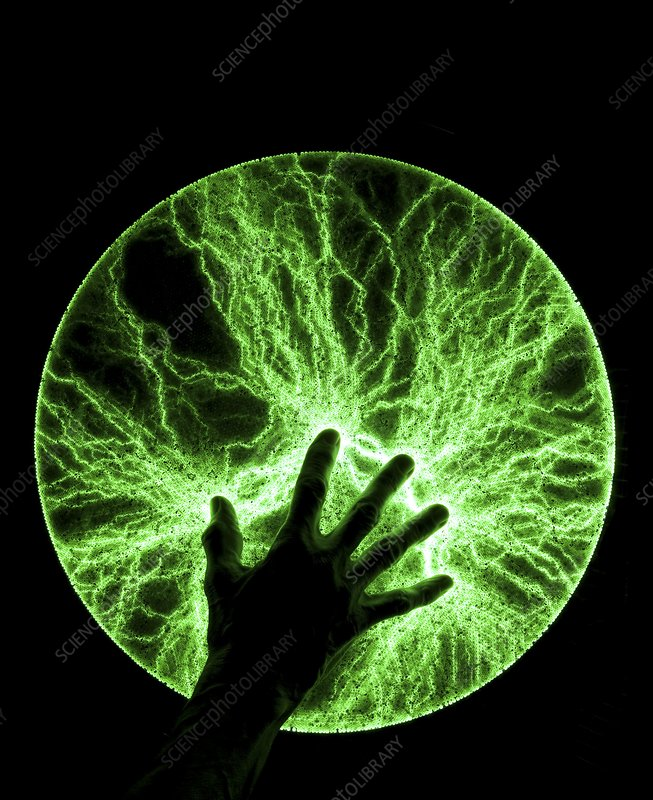 Plasma disc with hand