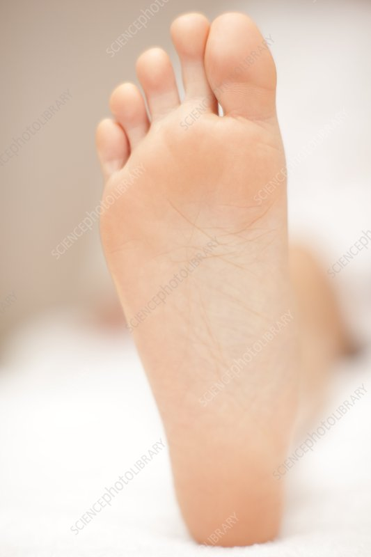 Healthy foot