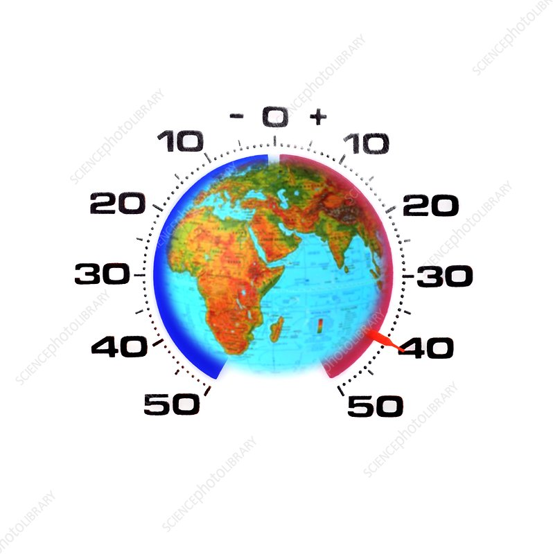 Global warming,conceptual image
