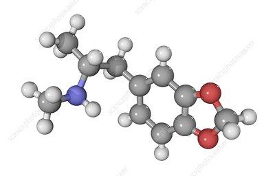 MDMA drug molecule