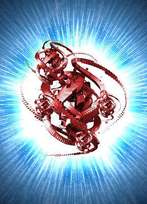 Computer virus, conceptual artwork