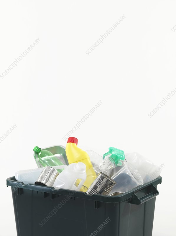 Household recycling box