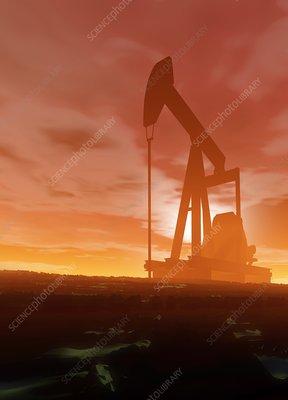 Oil pump, artwork