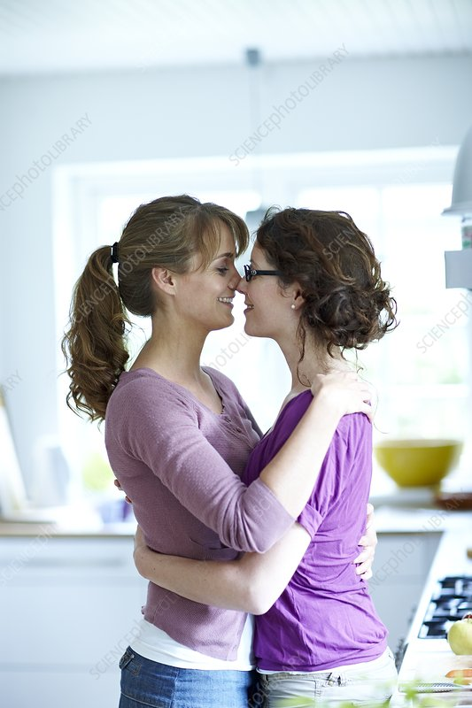 Same sex, lesbian lifestyle - Stock Image - F003/5174