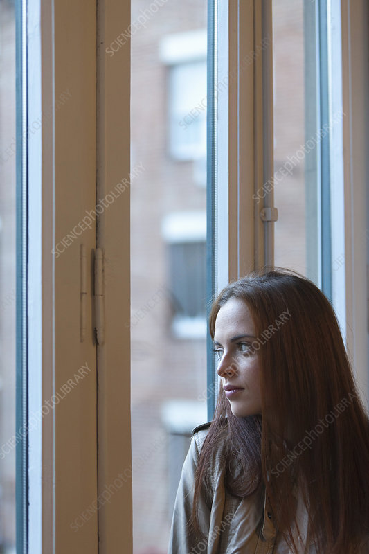 Woman by the window