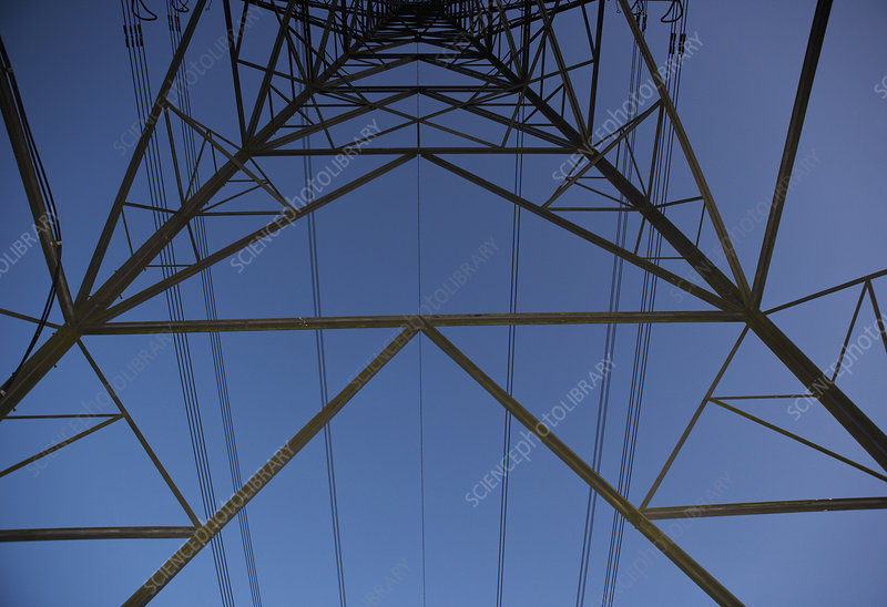 Pylons and power cables 2