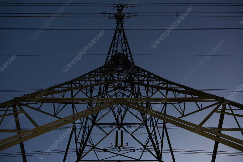 Pylons and power cables 3