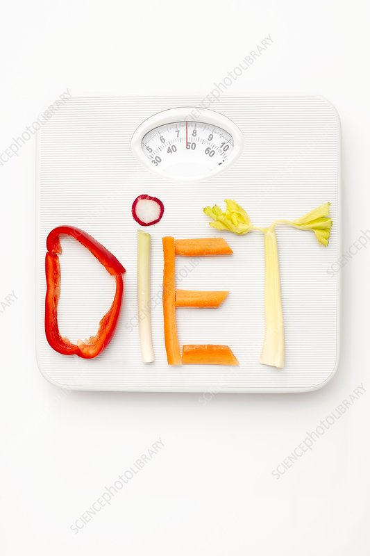 Dieting, conceptual image