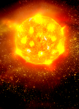 Solar activity, artwork
