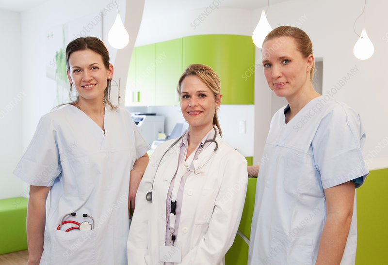 Doctor and nurses in surgery