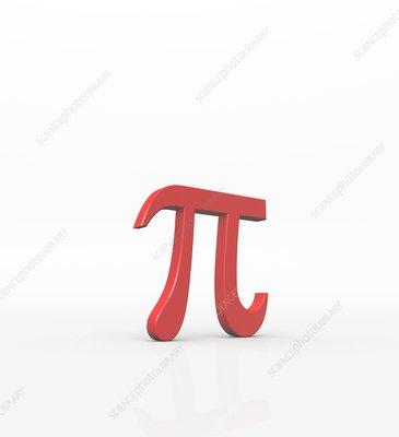 Greek letter Pi, lower case