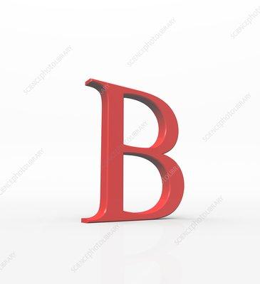 Greek letter Beta, upper case
