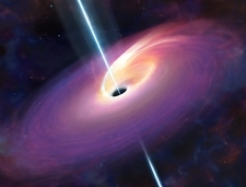 Accretion by a supermassive black hole