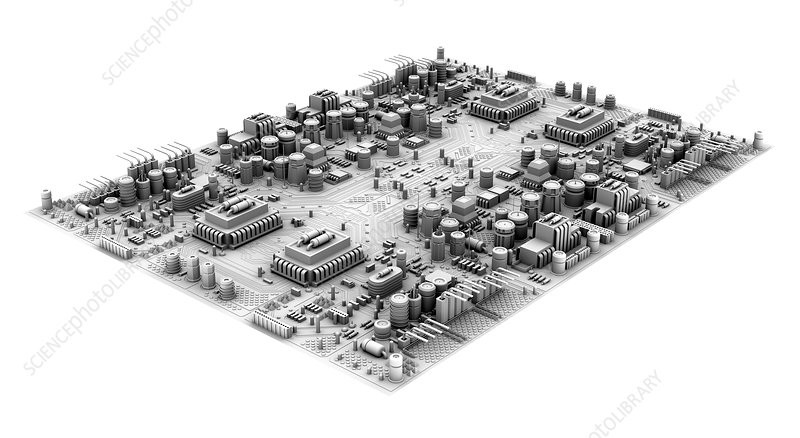 Circuit board, artwork