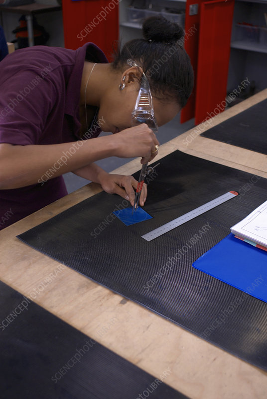 Worker tracing with compass in factory