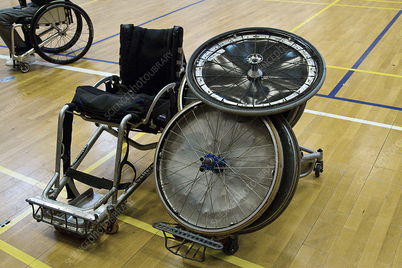Sports wheelchair parts