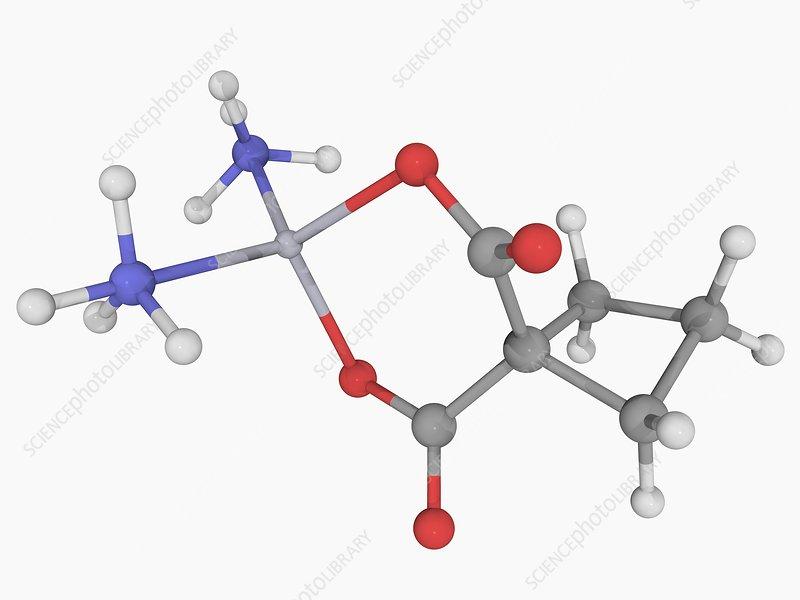 Carboplatin drug molecule