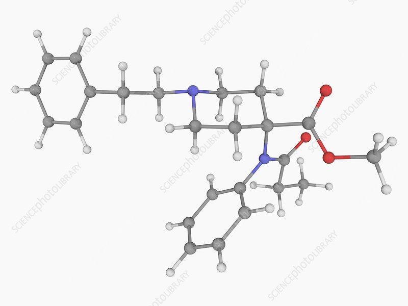 Carfentanil drug molecule