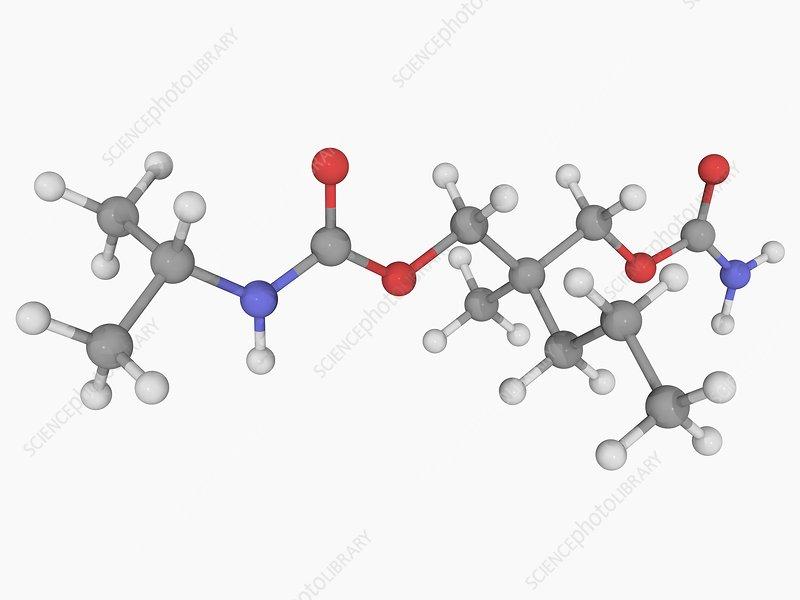 Carisoprodol drug molecule