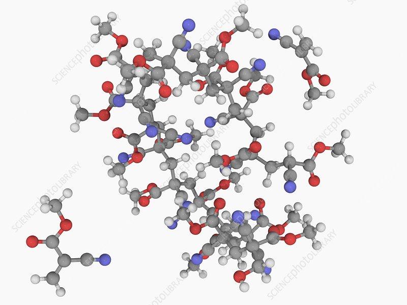 Cyanoacrylate molecule