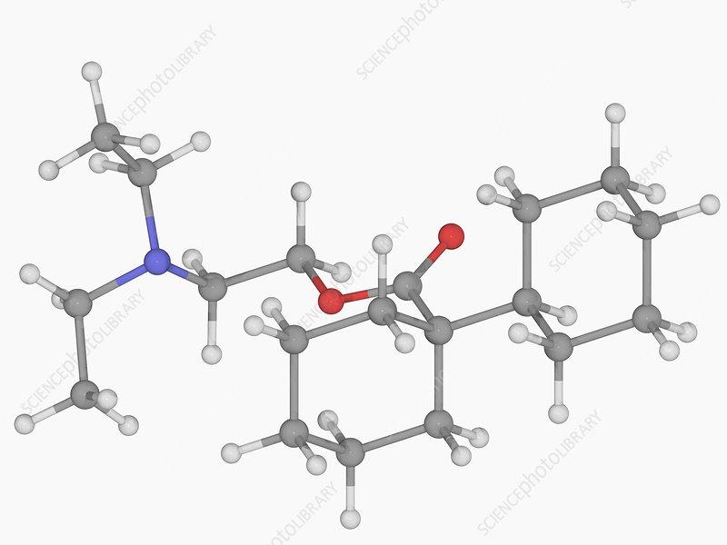 Dicyclomine drug molecule