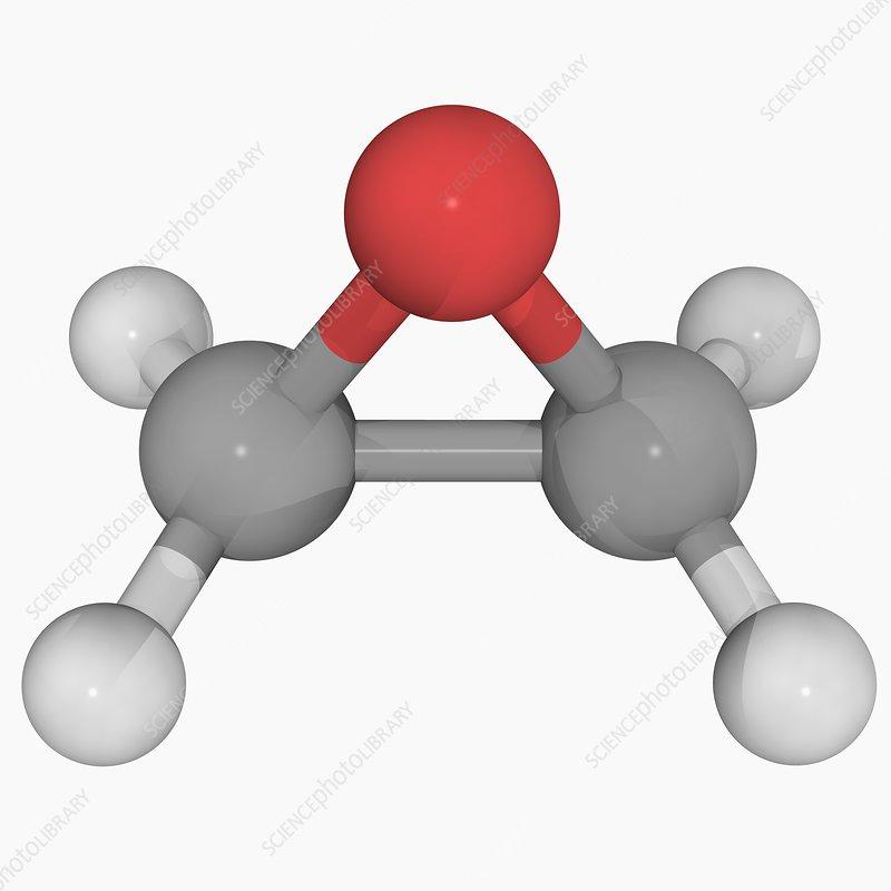 Ethylene oxide molecule