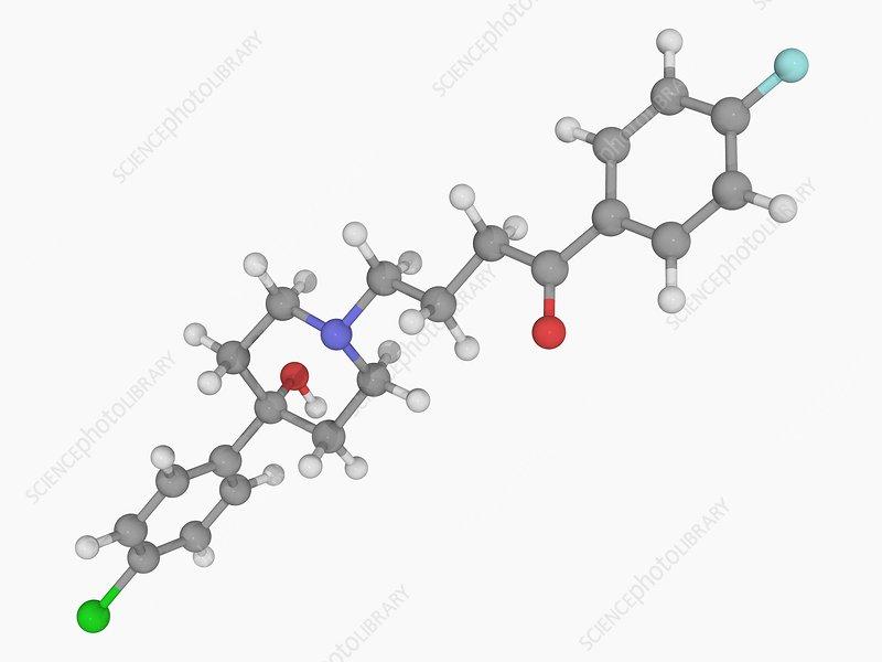Haloperidol drug molecule