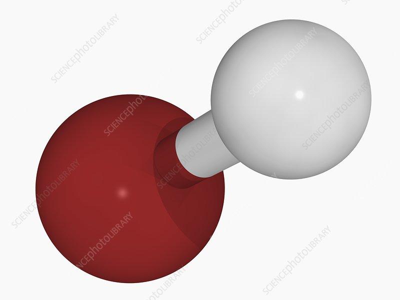 Hydrobromic acid molecule