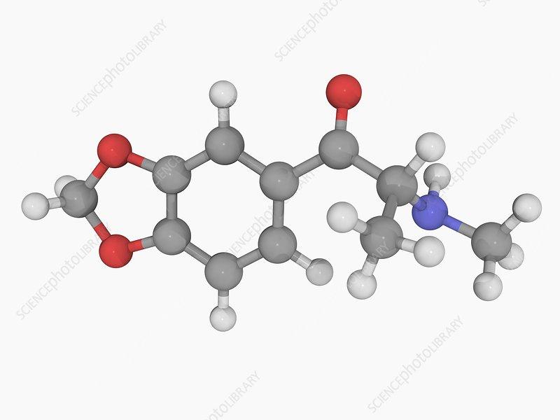 Methylone drug molecule