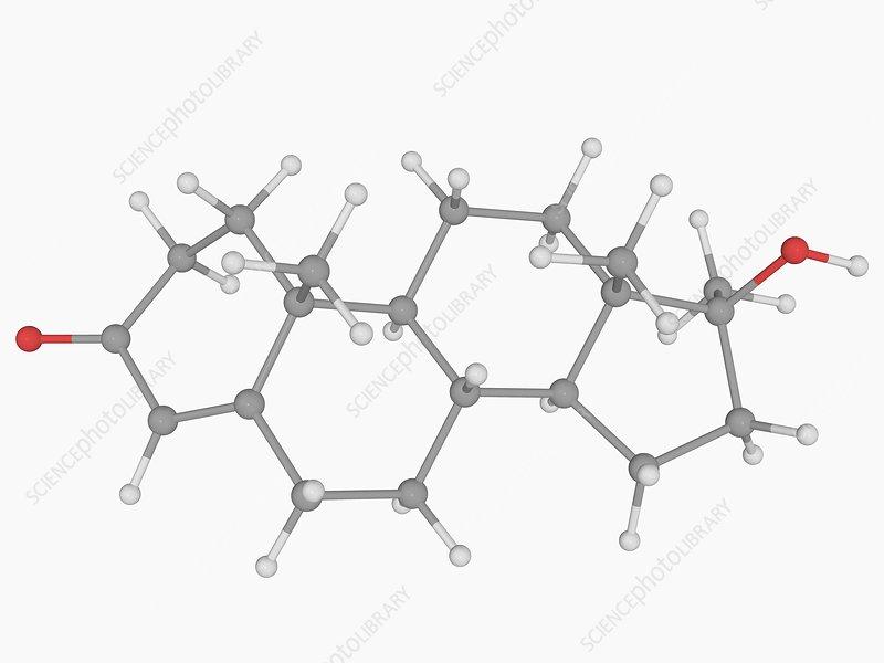 Methyltestosterone drug molecule