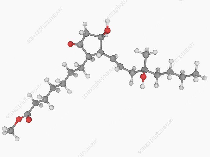 Misoprostol drug molecule