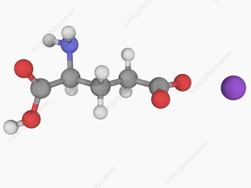 Monosodium glutamate molecule