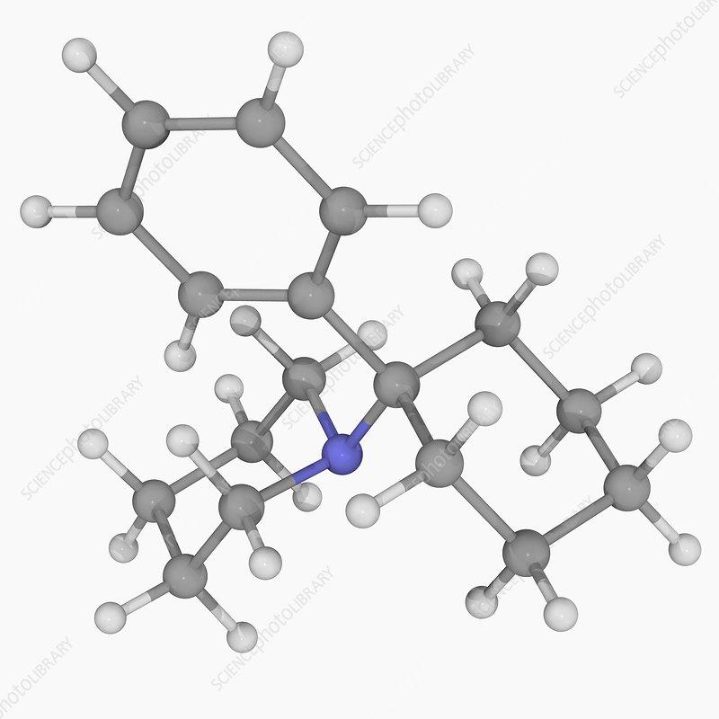 PCP drug molecule