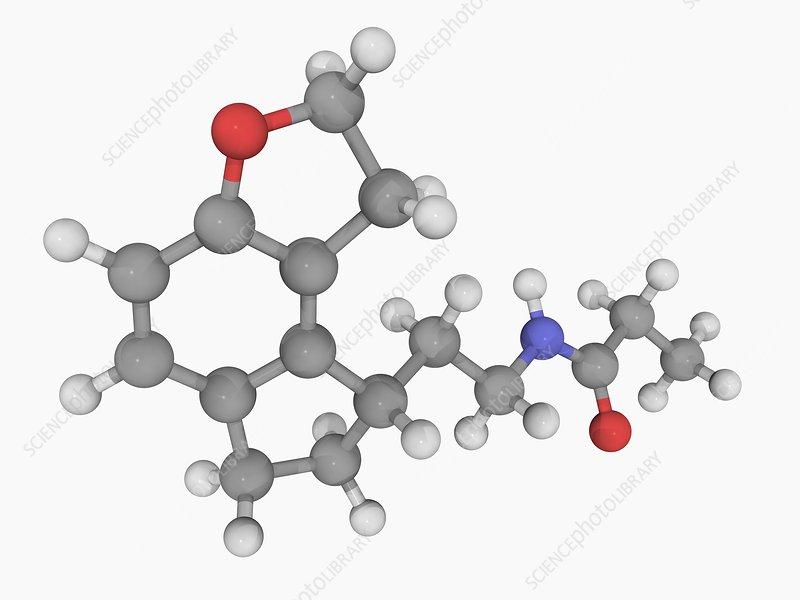 Ramelteon drug molecule