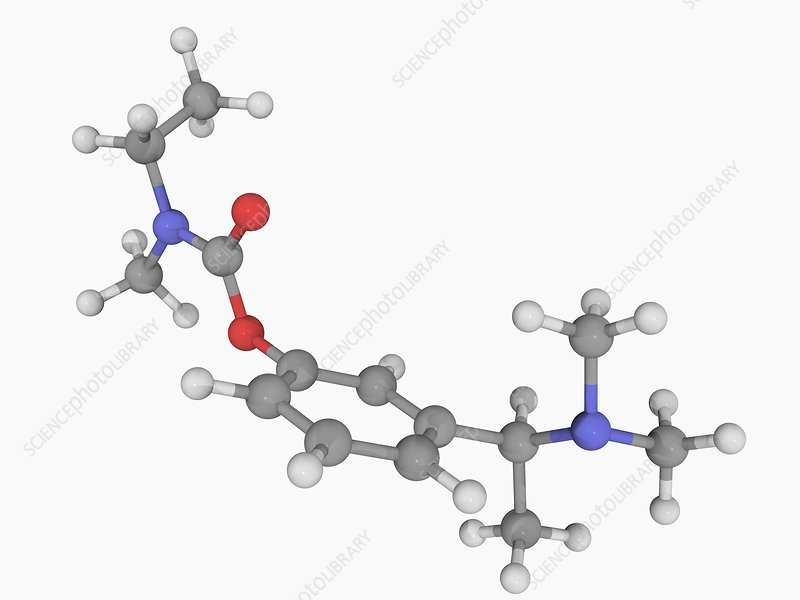 Rivastigmine drug molecule