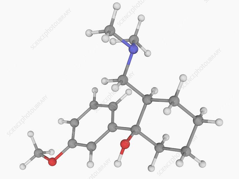Tramadol drug molecule