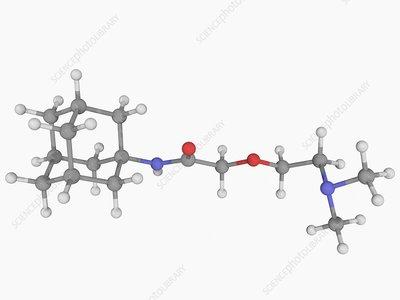 Tromantadine drug molecule
