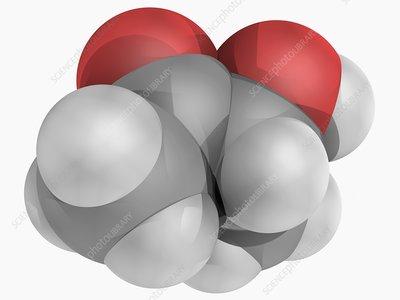 Acetoin molecule