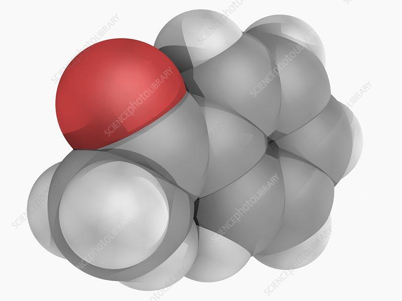 Acetophenone molecule