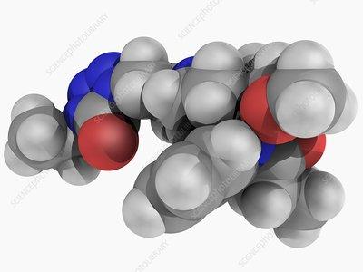 Alfentanil drug molecule