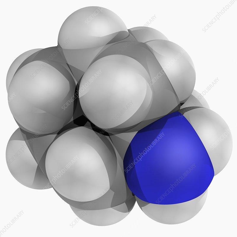 Amantadine drug molecule