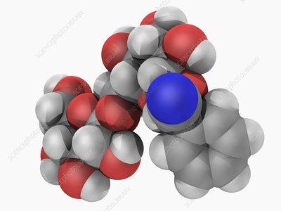 Amygdalin molecule