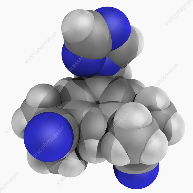 Anastrozole drug molecule